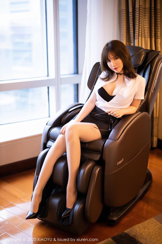 [XiaoYu] Vol.288 Xia Xiao Ya 40P, Underwear, Uniform, Xia Xi Zi, XiaoYu