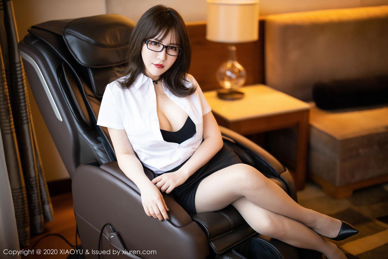 [XiaoYu] Vol.288 Xia Xiao Ya 5P, Underwear, Uniform, Xia Xi Zi, XiaoYu
