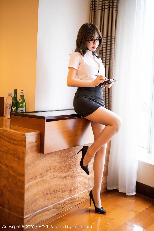[XiaoYu] Vol.288 Xia Xiao Ya 6P, Underwear, Uniform, Xia Xi Zi, XiaoYu