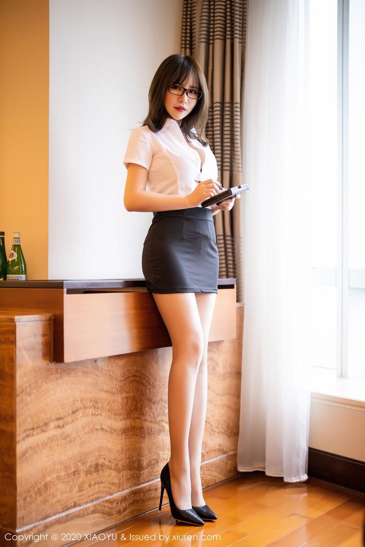[XiaoYu] Vol.288 Xia Xiao Ya 7P, Underwear, Uniform, Xia Xi Zi, XiaoYu