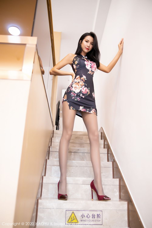 [XiaoYu] Vol.294 Carry 12P, Chen Liang Ling, Cheongsam, Tall, Temperament, Underwear, XiaoYu