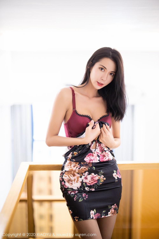 [XiaoYu] Vol.294 Carry 21P, Chen Liang Ling, Cheongsam, Tall, Temperament, Underwear, XiaoYu