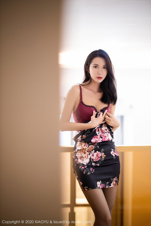 [XiaoYu] Vol.294 Carry 22P, Chen Liang Ling, Cheongsam, Tall, Temperament, Underwear, XiaoYu