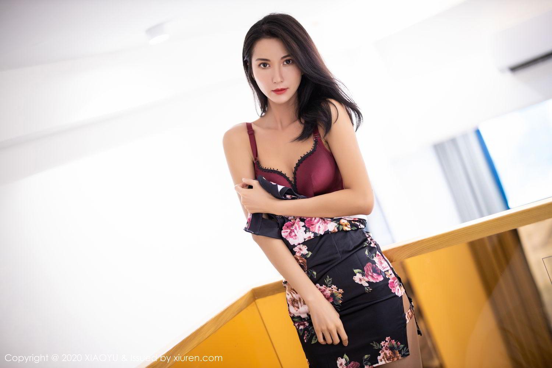 [XiaoYu] Vol.294 Carry 23P, Chen Liang Ling, Cheongsam, Tall, Temperament, Underwear, XiaoYu
