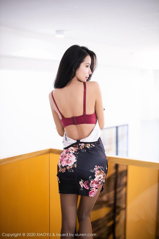 [XiaoYu] Vol.294 Carry 24P, Chen Liang Ling, Cheongsam, Tall, Temperament, Underwear, XiaoYu