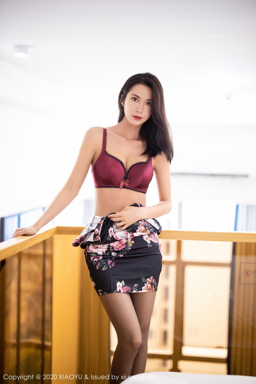 [XiaoYu] Vol.294 Carry 27P, Chen Liang Ling, Cheongsam, Tall, Temperament, Underwear, XiaoYu