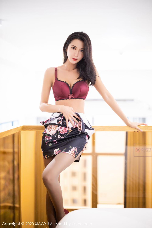 [XiaoYu] Vol.294 Carry 28P, Chen Liang Ling, Cheongsam, Tall, Temperament, Underwear, XiaoYu