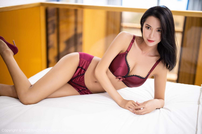 [XiaoYu] Vol.294 Carry 35P, Chen Liang Ling, Cheongsam, Tall, Temperament, Underwear, XiaoYu