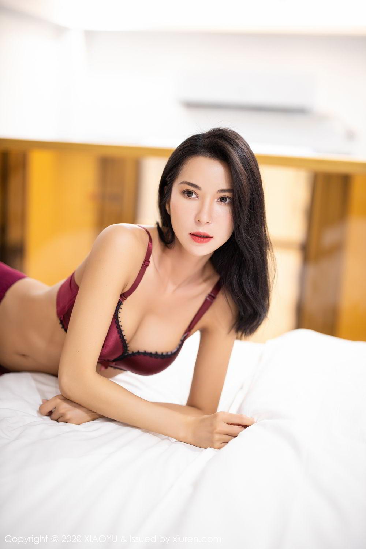 [XiaoYu] Vol.294 Carry 36P, Chen Liang Ling, Cheongsam, Tall, Temperament, Underwear, XiaoYu
