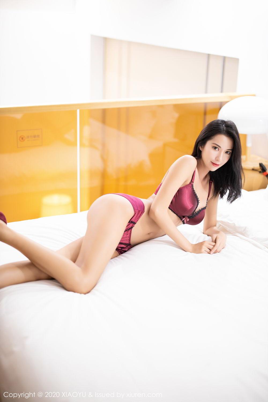[XiaoYu] Vol.294 Carry 38P, Chen Liang Ling, Cheongsam, Tall, Temperament, Underwear, XiaoYu