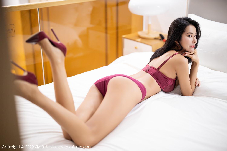 [XiaoYu] Vol.294 Carry 40P, Chen Liang Ling, Cheongsam, Tall, Temperament, Underwear, XiaoYu