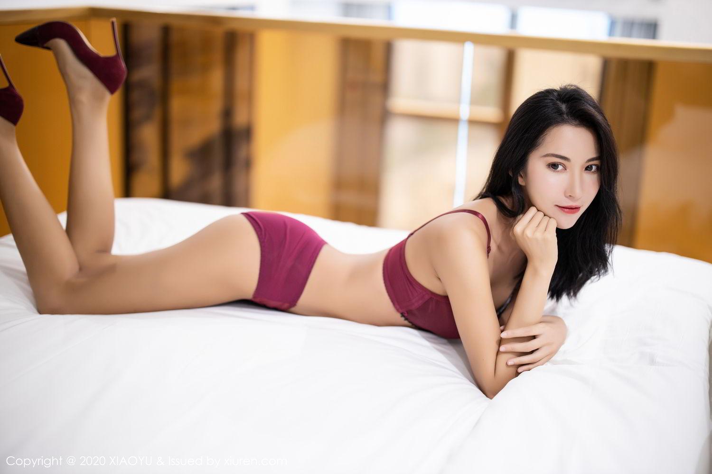 [XiaoYu] Vol.294 Carry 41P, Chen Liang Ling, Cheongsam, Tall, Temperament, Underwear, XiaoYu