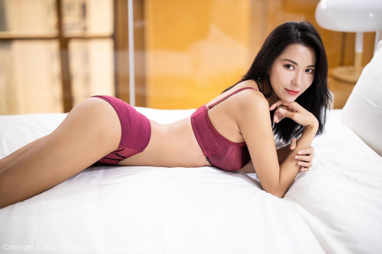 [XiaoYu] Vol.294 Carry 42P, Chen Liang Ling, Cheongsam, Tall, Temperament, Underwear, XiaoYu