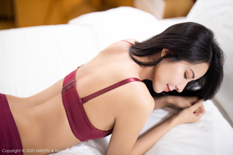 [XiaoYu] Vol.294 Carry 43P, Chen Liang Ling, Cheongsam, Tall, Temperament, Underwear, XiaoYu