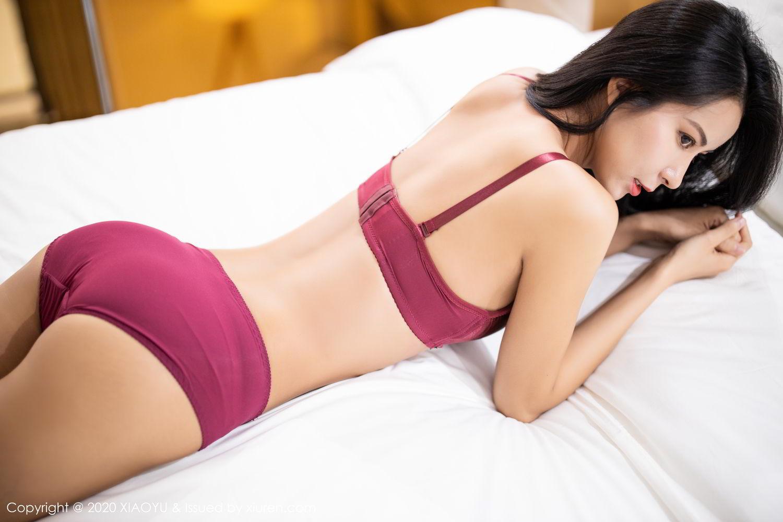 [XiaoYu] Vol.294 Carry 44P, Chen Liang Ling, Cheongsam, Tall, Temperament, Underwear, XiaoYu