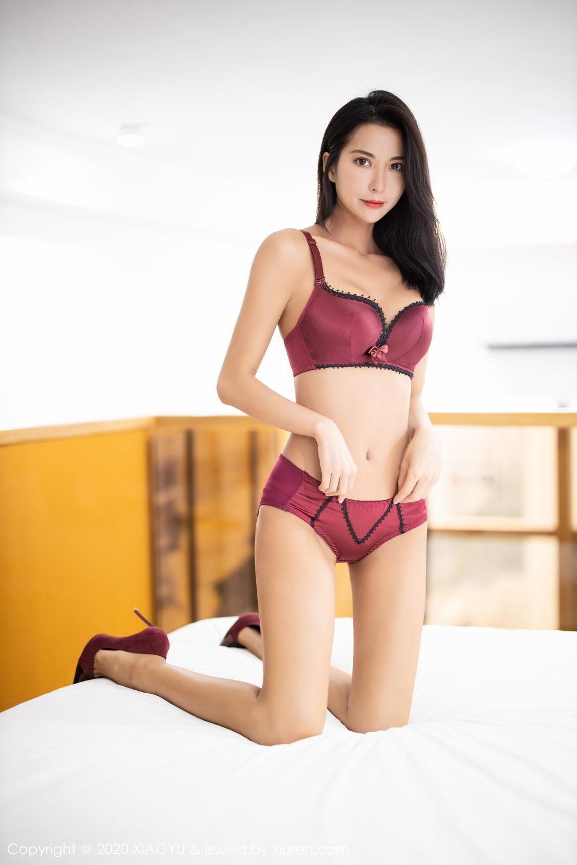 [XiaoYu] Vol.294 Carry 46P, Chen Liang Ling, Cheongsam, Tall, Temperament, Underwear, XiaoYu