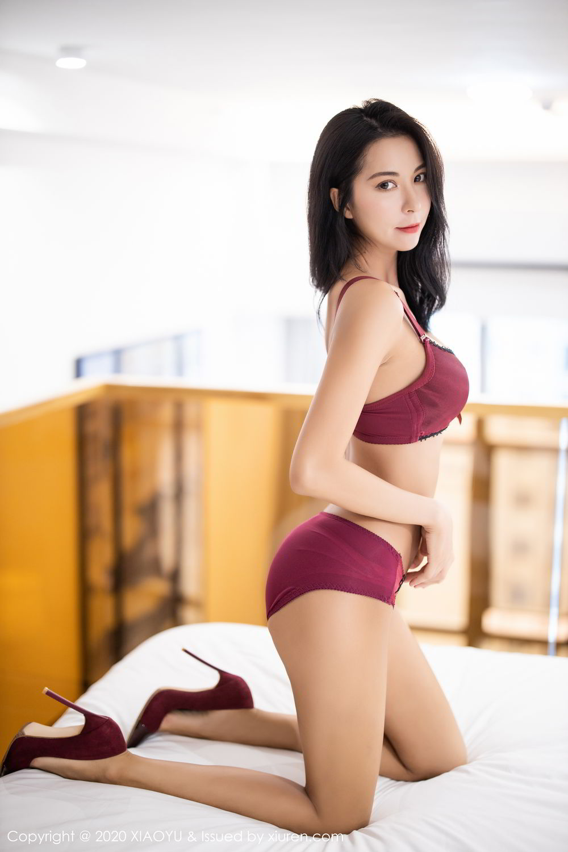 [XiaoYu] Vol.294 Carry 47P, Chen Liang Ling, Cheongsam, Tall, Temperament, Underwear, XiaoYu