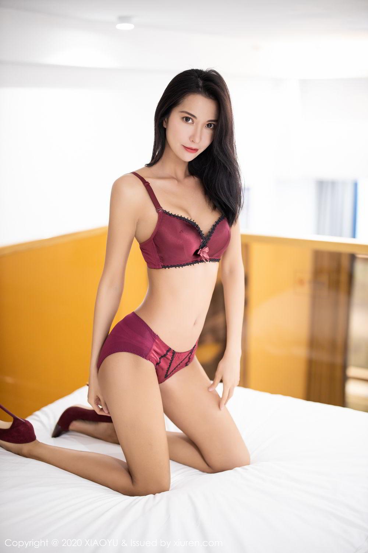[XiaoYu] Vol.294 Carry 48P, Chen Liang Ling, Cheongsam, Tall, Temperament, Underwear, XiaoYu