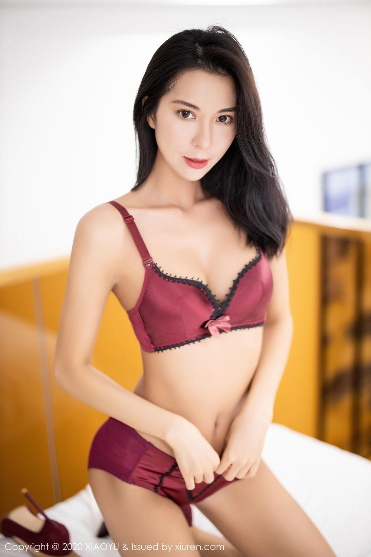 [XiaoYu] Vol.294 Carry 49P, Chen Liang Ling, Cheongsam, Tall, Temperament, Underwear, XiaoYu