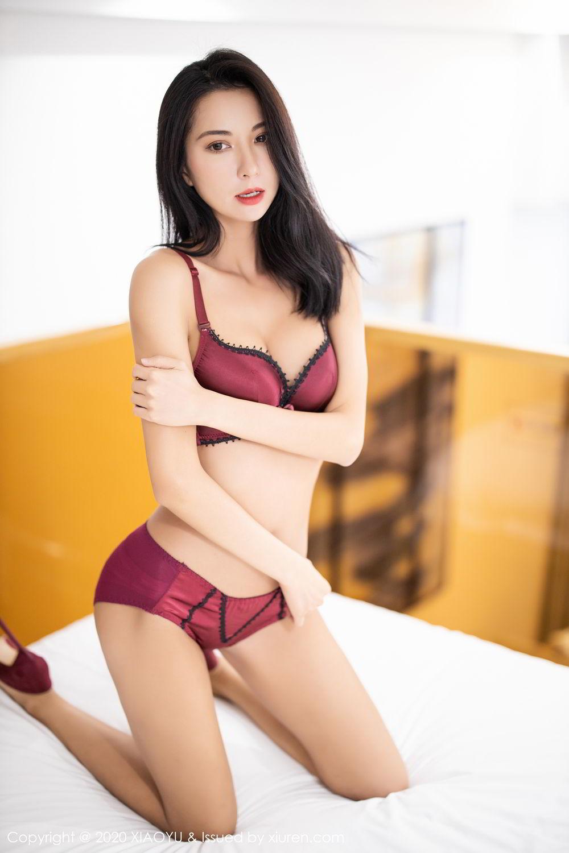 [XiaoYu] Vol.294 Carry 50P, Chen Liang Ling, Cheongsam, Tall, Temperament, Underwear, XiaoYu