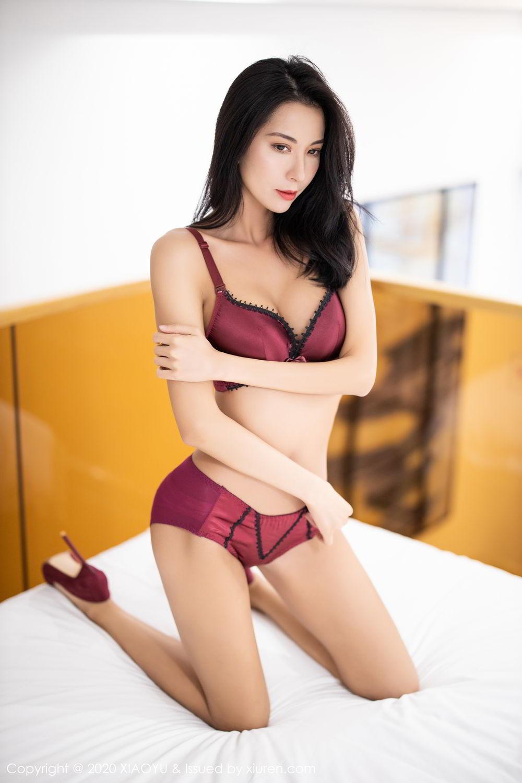 [XiaoYu] Vol.294 Carry 51P, Chen Liang Ling, Cheongsam, Tall, Temperament, Underwear, XiaoYu