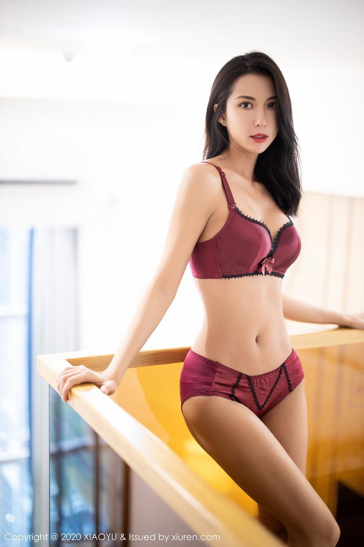 [XiaoYu] Vol.294 Carry 52P, Chen Liang Ling, Cheongsam, Tall, Temperament, Underwear, XiaoYu