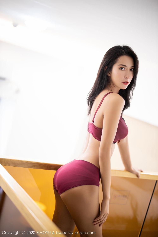 [XiaoYu] Vol.294 Carry 54P, Chen Liang Ling, Cheongsam, Tall, Temperament, Underwear, XiaoYu