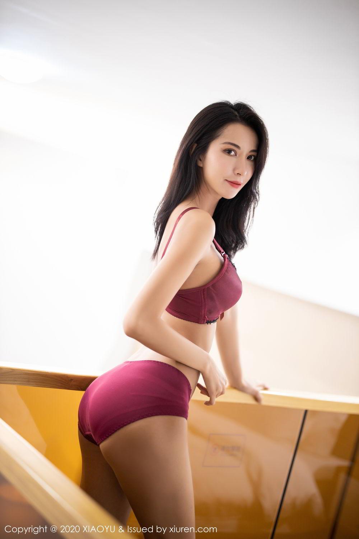 [XiaoYu] Vol.294 Carry 55P, Chen Liang Ling, Cheongsam, Tall, Temperament, Underwear, XiaoYu