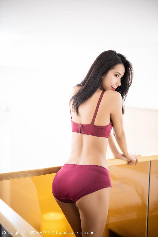 [XiaoYu] Vol.294 Carry 56P, Chen Liang Ling, Cheongsam, Tall, Temperament, Underwear, XiaoYu