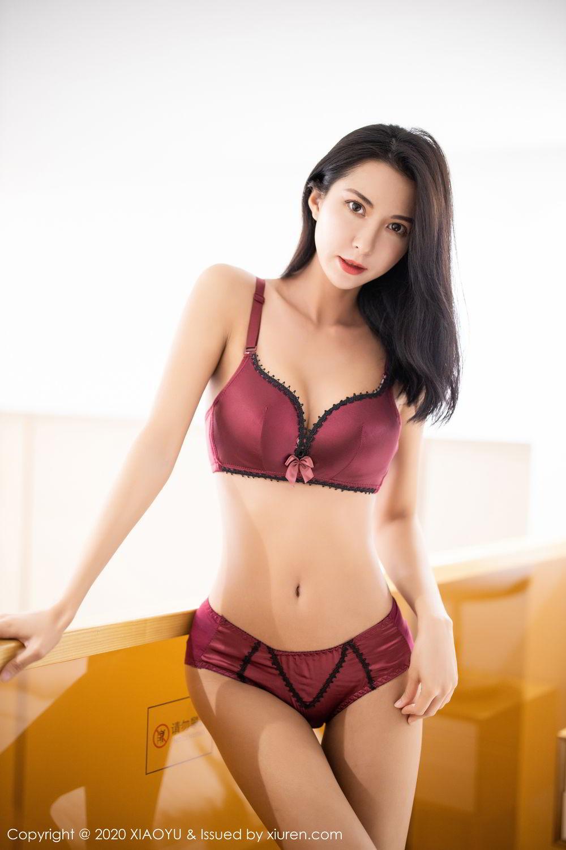 [XiaoYu] Vol.294 Carry 57P, Chen Liang Ling, Cheongsam, Tall, Temperament, Underwear, XiaoYu