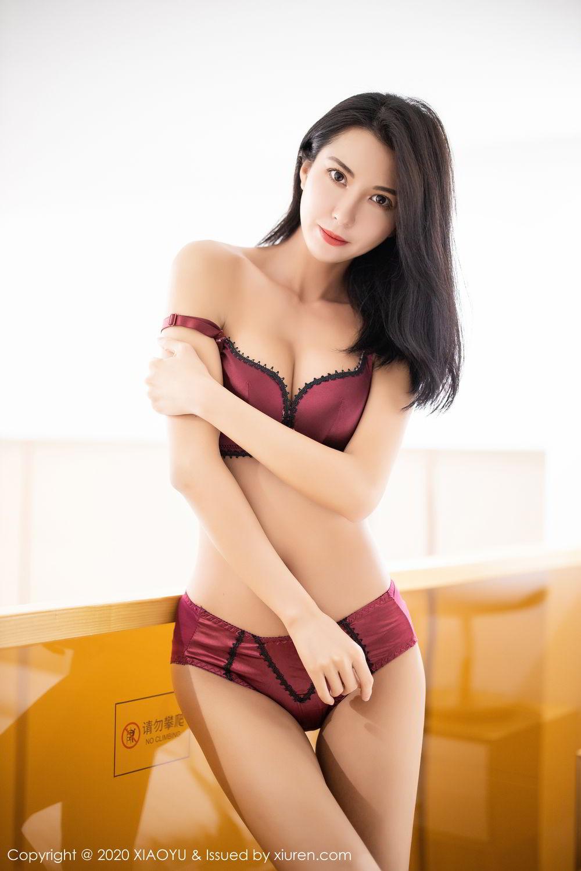 [XiaoYu] Vol.294 Carry 58P, Chen Liang Ling, Cheongsam, Tall, Temperament, Underwear, XiaoYu