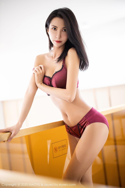 [XiaoYu] Vol.294 Carry 59P, Chen Liang Ling, Cheongsam, Tall, Temperament, Underwear, XiaoYu