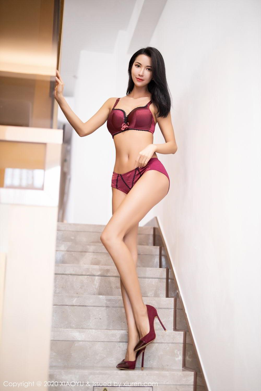 [XiaoYu] Vol.294 Carry 60P, Chen Liang Ling, Cheongsam, Tall, Temperament, Underwear, XiaoYu