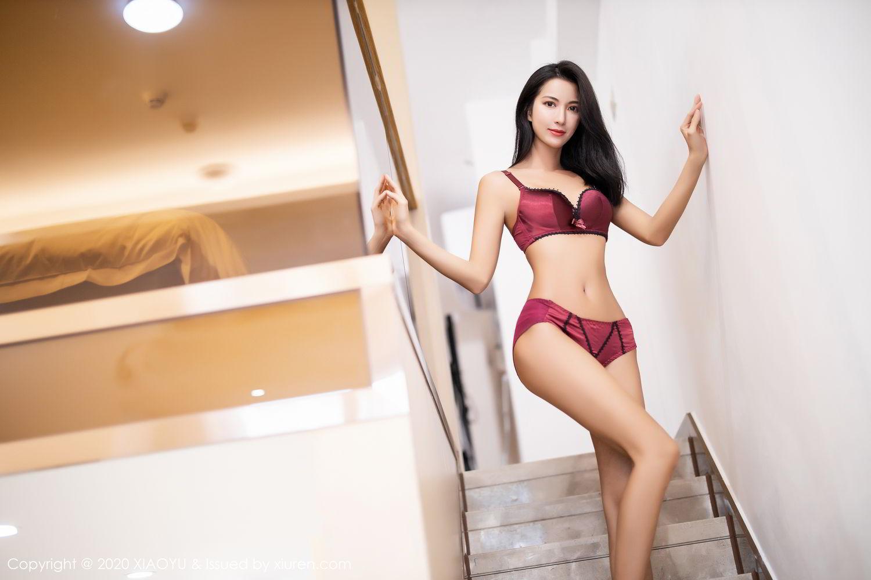 [XiaoYu] Vol.294 Carry 61P, Chen Liang Ling, Cheongsam, Tall, Temperament, Underwear, XiaoYu