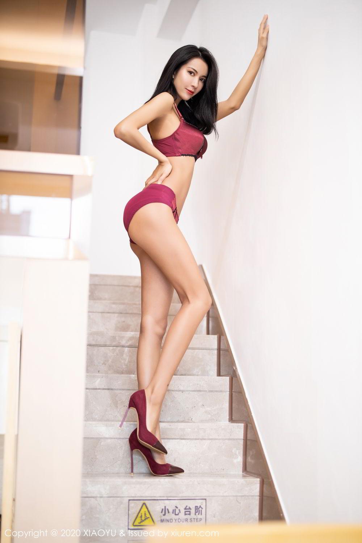 [XiaoYu] Vol.294 Carry 63P, Chen Liang Ling, Cheongsam, Tall, Temperament, Underwear, XiaoYu