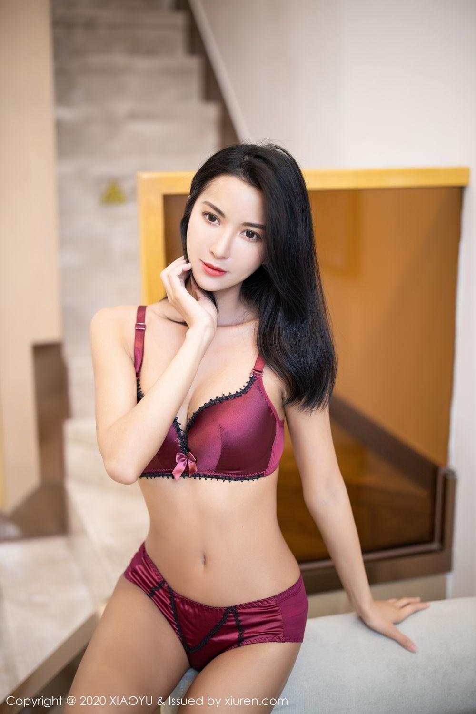 [XiaoYu] Vol.294 Carry 69P, Chen Liang Ling, Cheongsam, Tall, Temperament, Underwear, XiaoYu