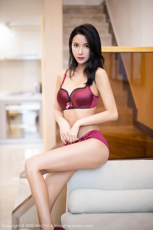 [XiaoYu] Vol.294 Carry 72P, Chen Liang Ling, Cheongsam, Tall, Temperament, Underwear, XiaoYu
