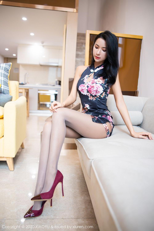 [XiaoYu] Vol.294 Carry 7P, Chen Liang Ling, Cheongsam, Tall, Temperament, Underwear, XiaoYu