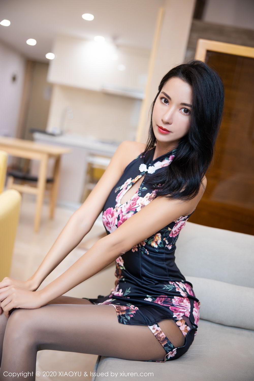 [XiaoYu] Vol.294 Carry 8P, Chen Liang Ling, Cheongsam, Tall, Temperament, Underwear, XiaoYu