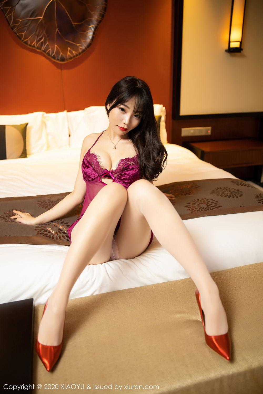 [XiaoYu] Vol.295 Zhi Zhi Booty 14P, Chen Zhi, Tall, Underwear, XiaoYu