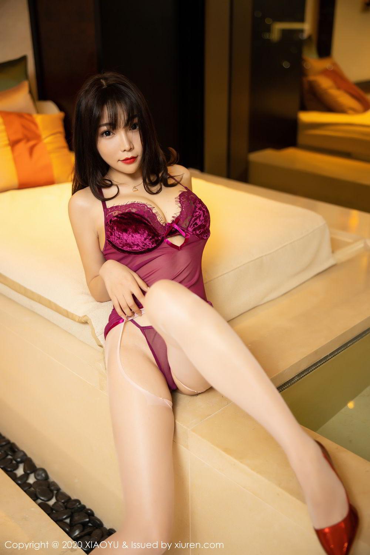 [XiaoYu] Vol.295 Zhi Zhi Booty 19P, Chen Zhi, Tall, Underwear, XiaoYu