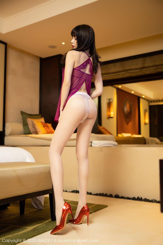 [XiaoYu] Vol.295 Zhi Zhi Booty 6P, Chen Zhi, Tall, Underwear, XiaoYu