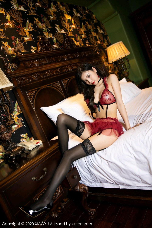 [XiaoYu] Vol.296 Yang Chen Chen 18P, Black Silk, Tall, Underwear, XiaoYu, Yang Chen Chen
