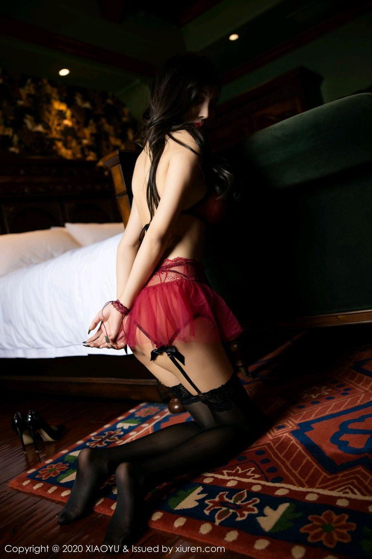 [XiaoYu] Vol.296 Yang Chen Chen 52P, Black Silk, Tall, Underwear, XiaoYu, Yang Chen Chen