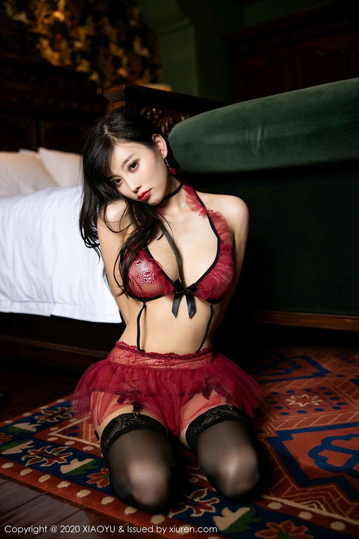 [XiaoYu] Vol.296 Yang Chen Chen 58P, Black Silk, Tall, Underwear, XiaoYu, Yang Chen Chen