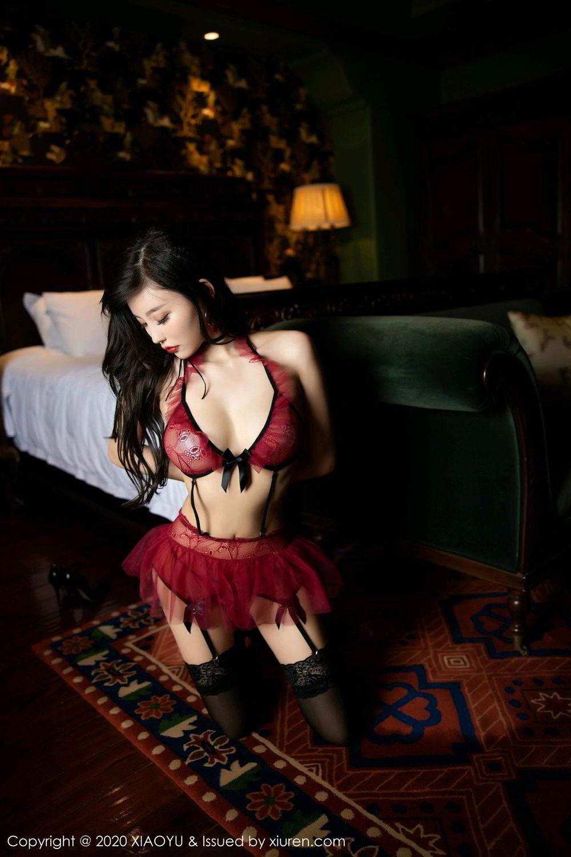 [XiaoYu] Vol.296 Yang Chen Chen 61P, Black Silk, Tall, Underwear, XiaoYu, Yang Chen Chen