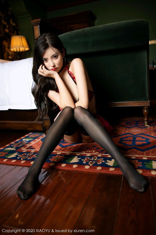 [XiaoYu] Vol.296 Yang Chen Chen 67P, Black Silk, Tall, Underwear, XiaoYu, Yang Chen Chen