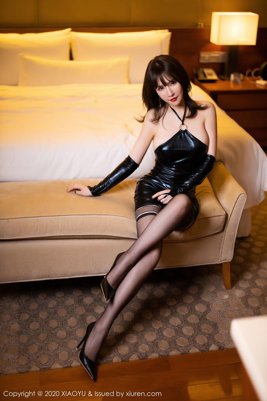 [XiaoYu] Vol.297 Xia Xiao Wei 14P, Black Silk, Tall, Xia Xi Zi, XiaoYu
