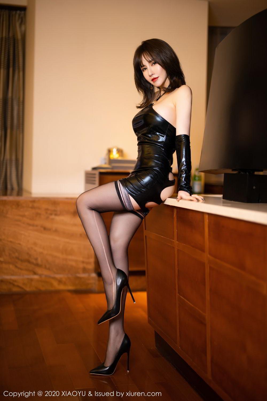 [XiaoYu] Vol.297 Xia Xiao Wei 1P, Black Silk, Tall, Xia Xi Zi, XiaoYu