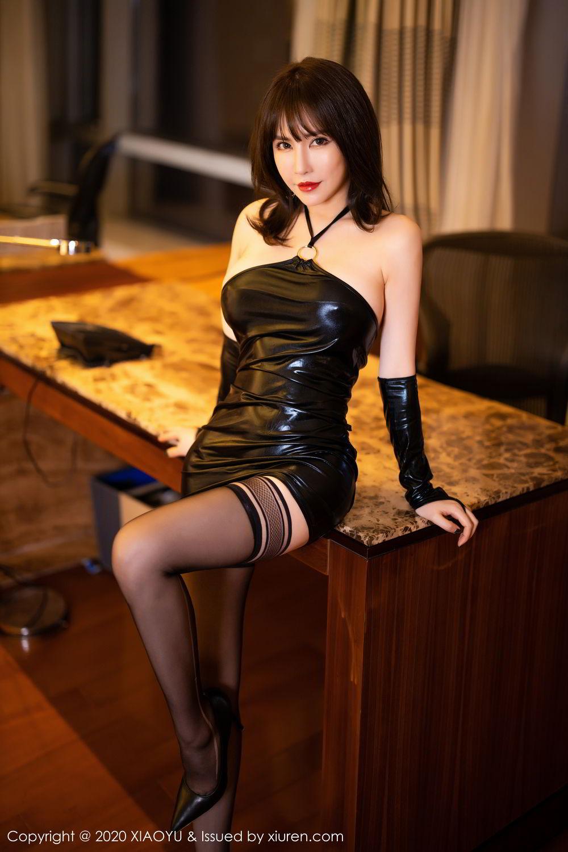[XiaoYu] Vol.297 Xia Xiao Wei 22P, Black Silk, Tall, Xia Xi Zi, XiaoYu
